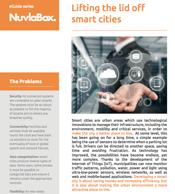 Cloud Solutions for Smart Cities